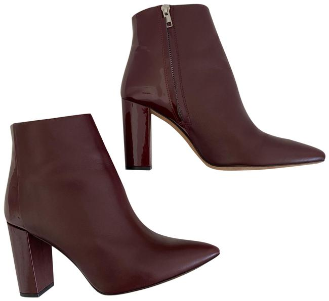 Item - Burgundy Leather Ankle Boots/Booties Size US 11 Regular (M, B)