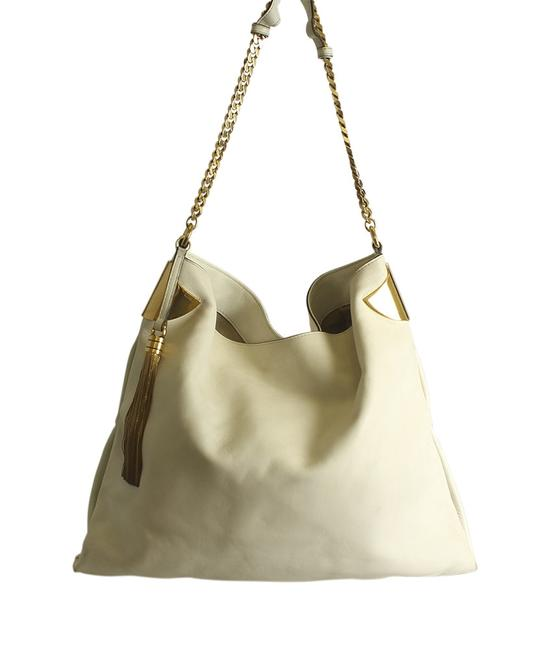 Item - 290681 1970 (190915) Cream Leather Hobo Bag