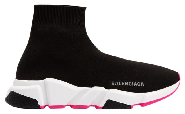 Item - Black/Pink Dm Speed Sneakers Size EU 39 (Approx. US 9) Regular (M, B)