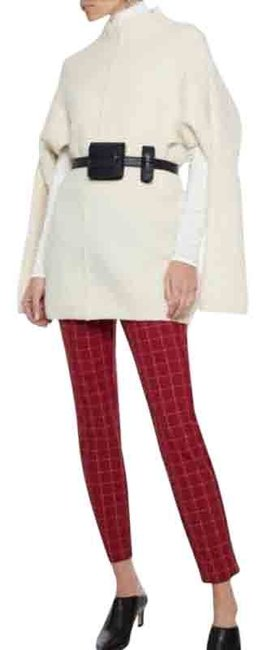 Item - Red Simone Checked Twill Pants Size 6 (S, 28)