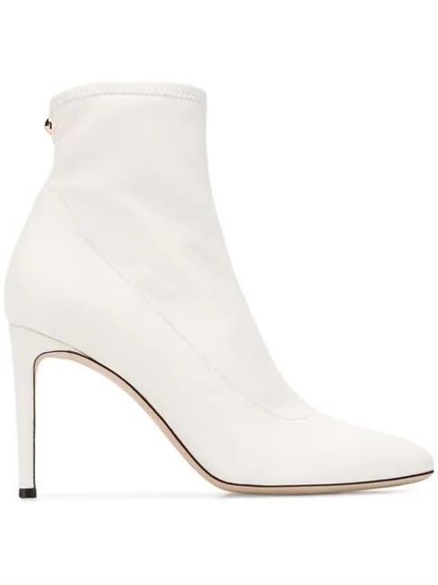 Item - White I870056 Stretch Ankle Boots/Booties Size EU 40 (Approx. US 10) Regular (M, B)