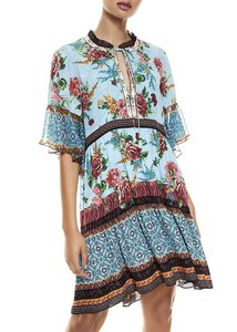 Item - Multi with Tag Glory Tiered Ruffle Tunic  Night Out Dress