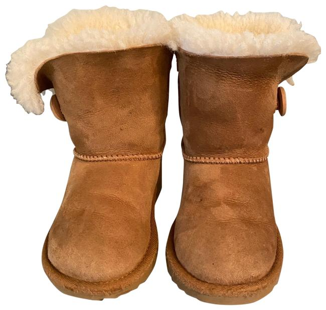 Item - Tan Youth Boots/Booties Size US 9 Regular (M, B)
