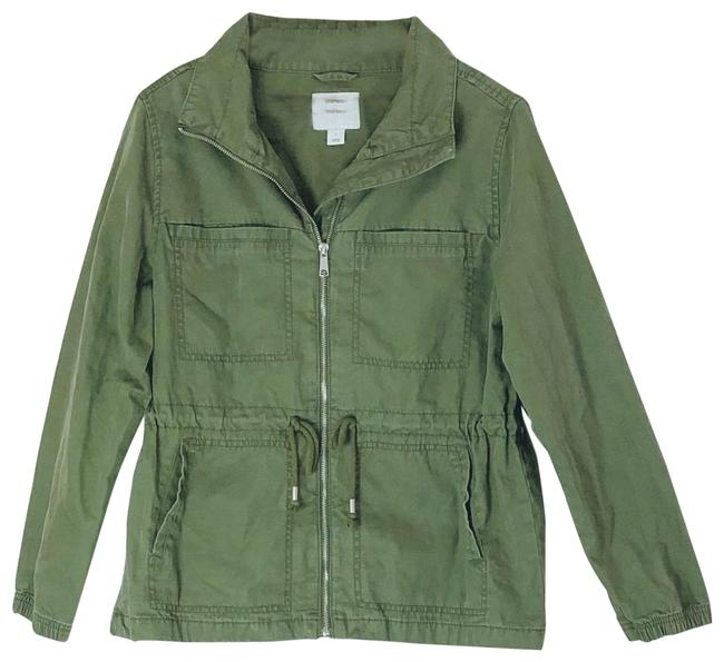 Item - Green Utility Jacket Size 14 (L)