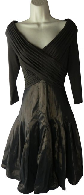 Item - Brown Mid-length Formal Dress Size 8 (M)