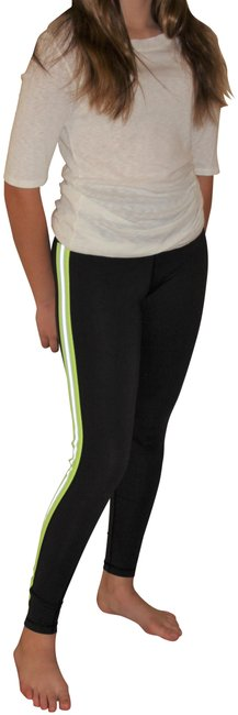 Item - Neon Athletic Tuxedo High Waisted Stripe Activewear Bottoms Size 8 (M, 29, 30)