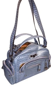 Kathy Van Zeeland Satchel in Light blue