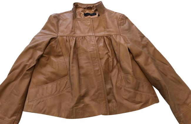 Item - Tan Woman Jacket Size 8 (M)