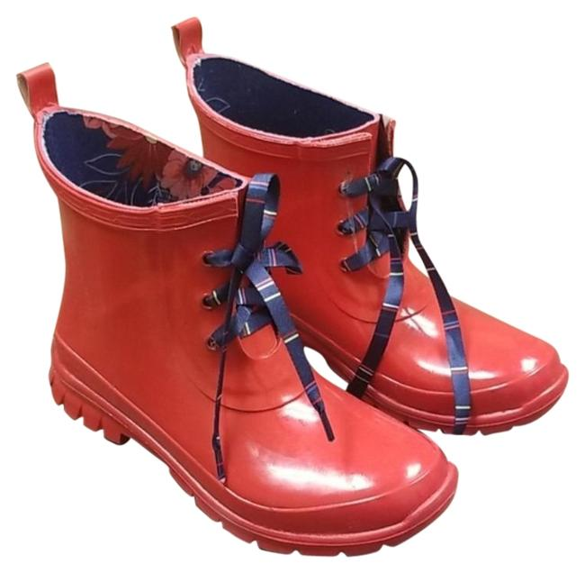 Item - Red Traynor Rain Boots/Booties Size US 6 Regular (M, B)