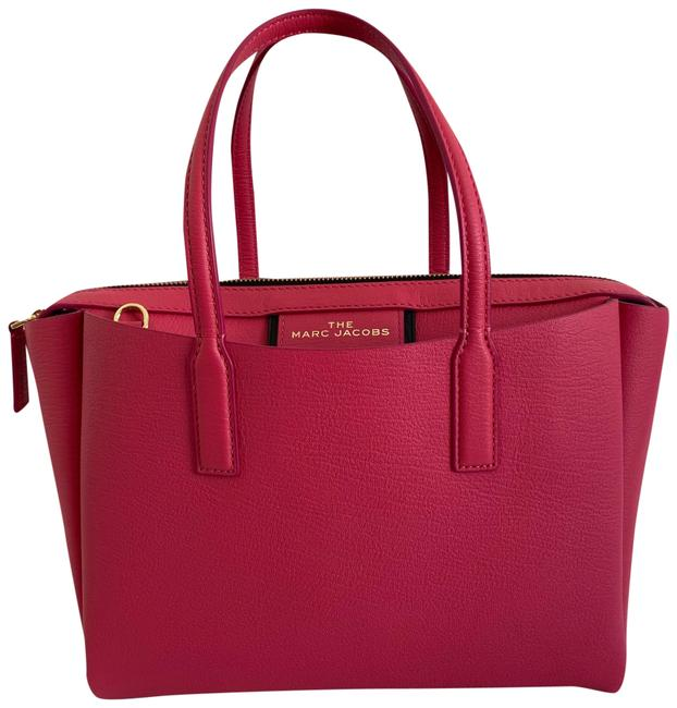 Item - The Protege Pink Leather Tote