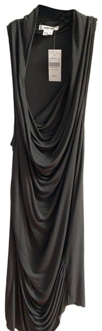 Item - Gray with A Hint Of Dark Green A09hw517 Short Night Out Dress Size 4 (S)