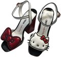 Hello Kitty X Asos White with Red Sequin Heels Platforms Size US 10 Regular (M, B) Hello Kitty X Asos White with Red Sequin Heels Platforms Size US 10 Regular (M, B) Image 1
