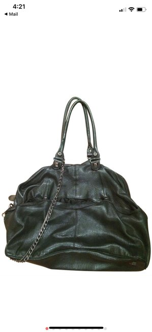 Item - Super Soft with Chain Black Leather Hobo Bag