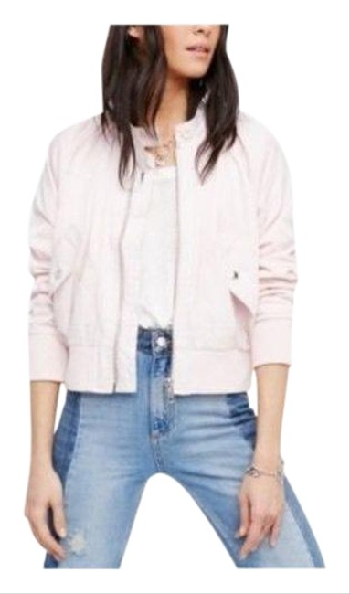 Item - Pink Baby Midnight Bomber Large Jacket Size 12 (L)