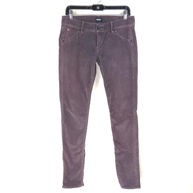 Item - Purple Dark Rinse Corduroy Stretch Fit Skinny Jeans Size 28 (4, S)