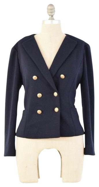 Item - Navy Nautical Blazer Size 4 (S)