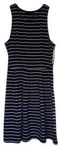 short dress Navy and White on Tradesy