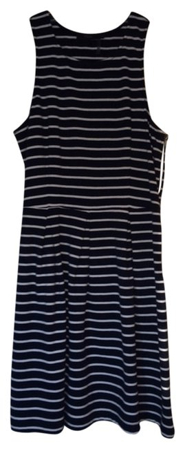 Other short dress Navy and White on Tradesy