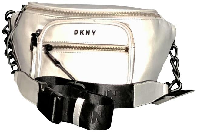 Item - Abby Belt/ Sling Silver Faux Leather Messenger Bag