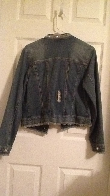 INC International Concepts denim Jacket