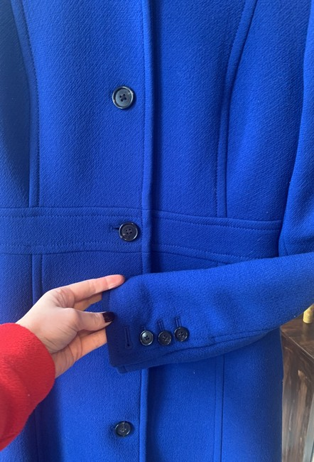 J.Crew Royal Blue Classic Day Italian Double Cloth Wool with Thinsulate Coat Size 0 (XS) J.Crew Royal Blue Classic Day Italian Double Cloth Wool with Thinsulate Coat Size 0 (XS) Image 6