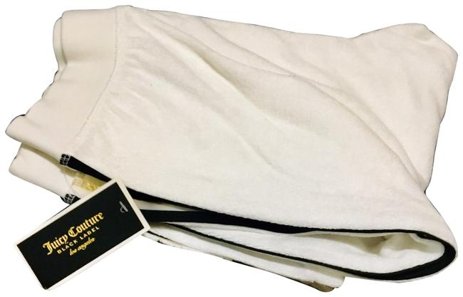 Item - White Microterry Joggers Pants Size 0 (XS, 25)