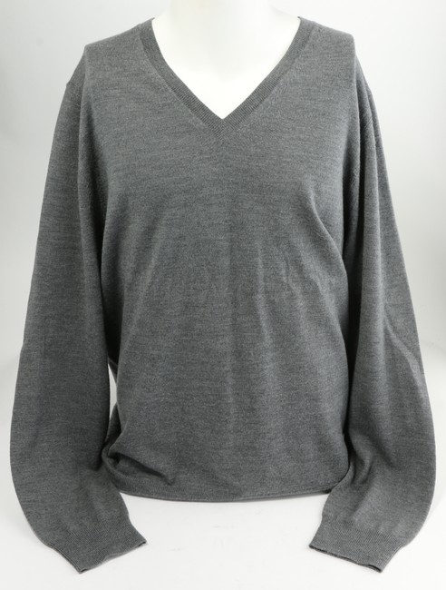 Item - Gray Long-sleeved Sweater Shirt