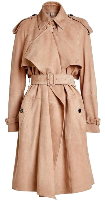 Item - Blush Pink Women Sanbridge Suede Wrap Coat Size 12 (L)