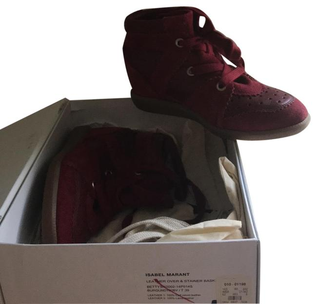 Item - Burgundy Betty Sneakers Size EU 39 (Approx. US 9) Regular (M, B)