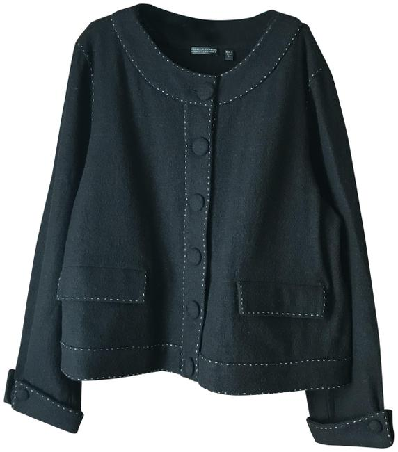 Item - Black Covered Buttons Blazer Size 22 (Plus 2x)
