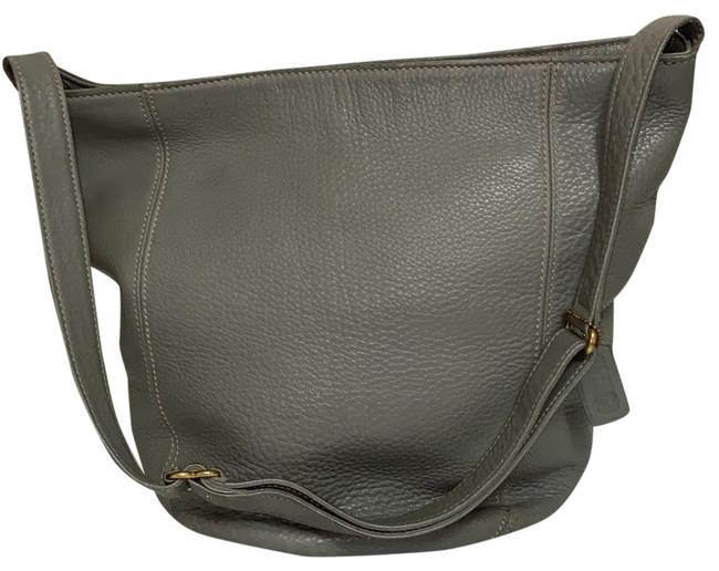 Item - Duffle Bag Gray Family Leather Tote