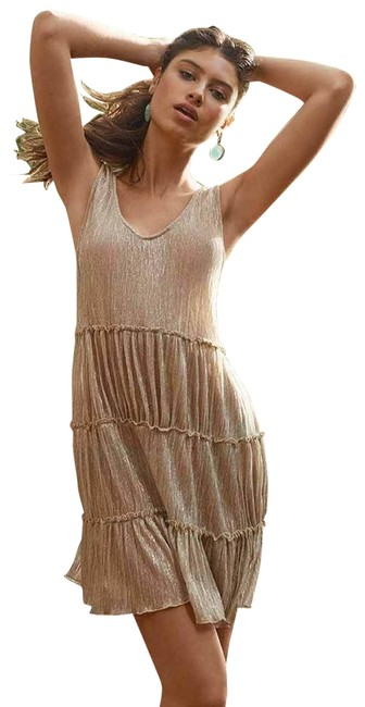 Item - Gold XS Laura Dress Xs/S New Cover-up/Sarong Size 0 (XS)