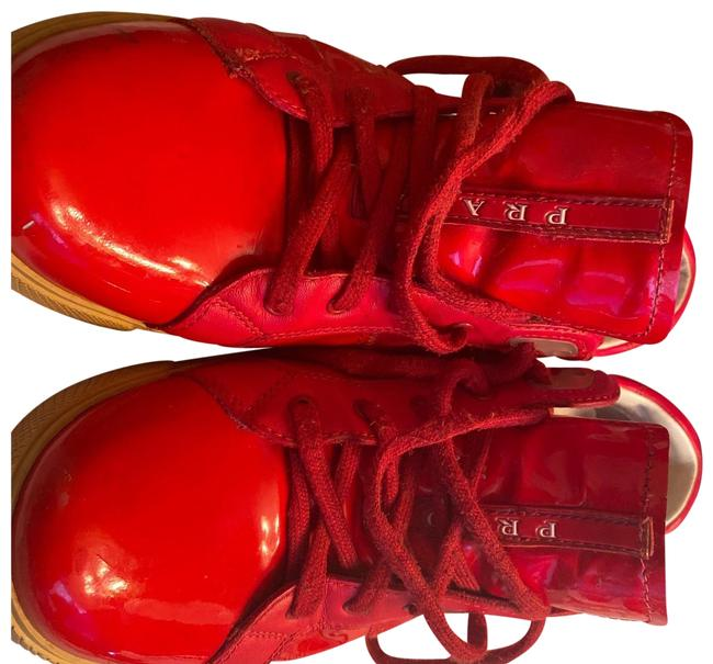 Item - Red 3e 3651 Sneakers Size EU 38.5 (Approx. US 8.5) Regular (M, B)