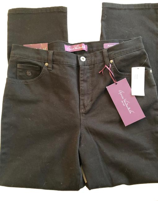 Item - Black Relaxed Fit Jeans Size Petite 12 (L)