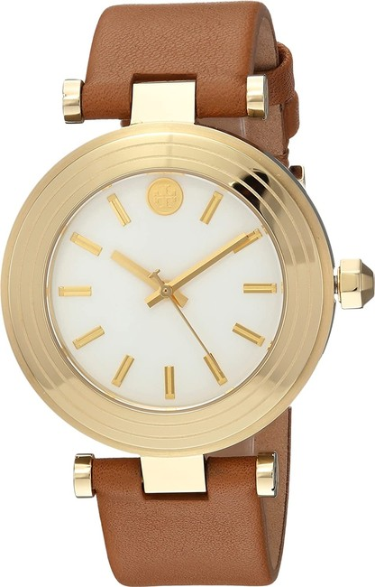 Item - Luggage/Gold-tone T Tbw9002 Women's Classic Leather 35mm Watch