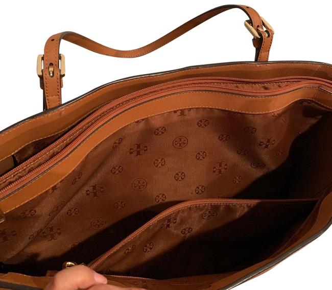 Item - Large York Camel Leather Tote