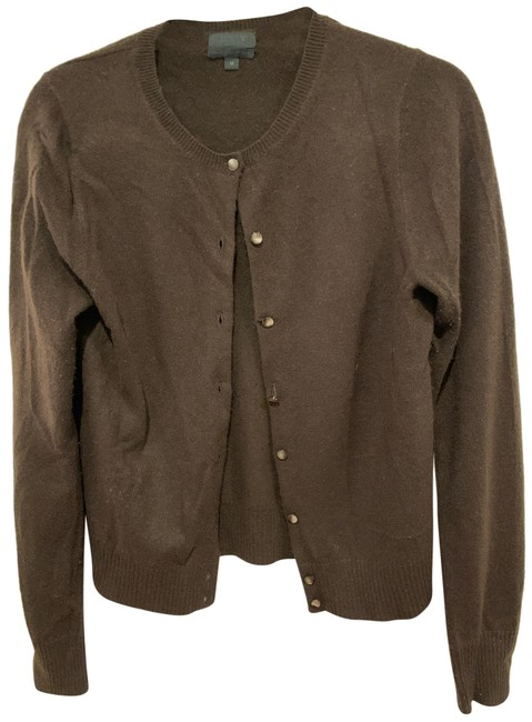 Item - Brown Collection Italian Cashmere Cardigan Size 8 (M)