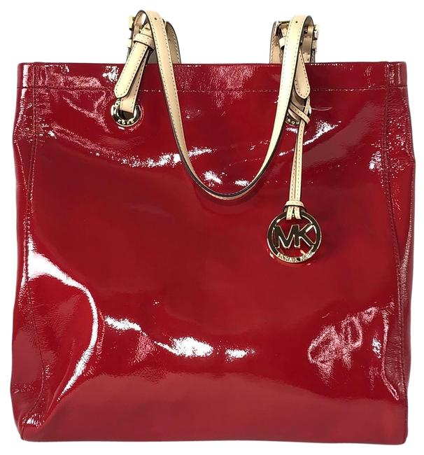 Item - Jet Red Patent Leather Tote