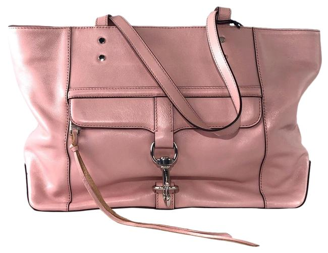 Item - Bowery Pink Leather Tote