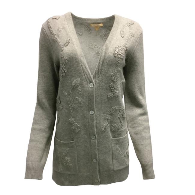 Item - Cashmere Button Grey Sweater