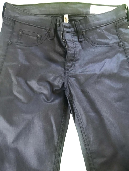 Rag & Bone Black And Jeggings Size 4 (S, 27) Rag & Bone Black And Jeggings Size 4 (S, 27) Image 1