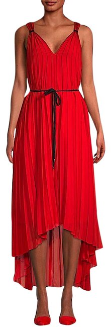Item - Red with Tag Maleeta High/Low Sleeveless Mid-length Cocktail Dress Size 2 (XS)