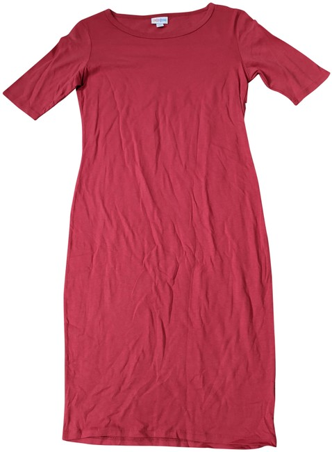 Item - Red Julia Mid-length Short Casual Dress Size 0 (XS)