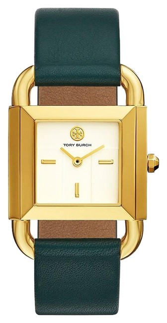 Item - Green Tbw7203 The Phipps Valley Forge Leather Two-hand 29mm Watch
