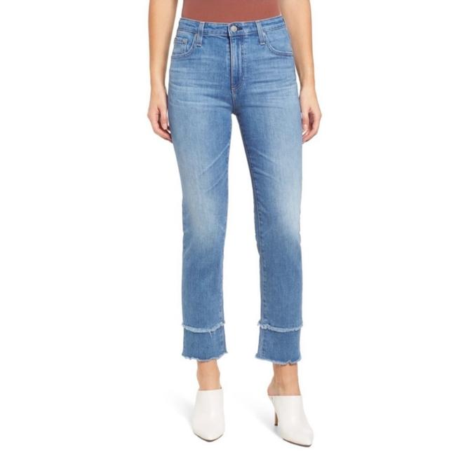 Item - Blue Light Wash The Isabelle High-rise Crop Straight Leg Jeans Size 8 (M, 29, 30)