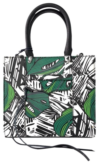 Item - Crossbody Mini Green Multi Leather Tote