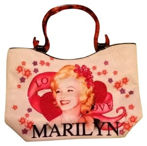 cielo creations Marilyn Monroe Beads Shoulder Bag