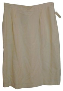 Talbots Pencil Skirt cream