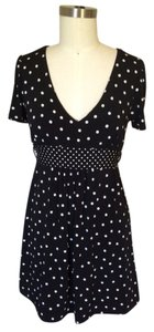 Forever 21 short dress Black Polka Dot on Tradesy