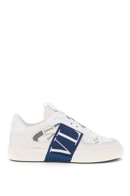 Item - White/Blue/Gray Sn Vl7n Sneakers Size EU 35 (Approx. US 5) Regular (M, B)